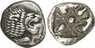 Milet. 1/12 Stater. Gorny & Mosch 200 (2011), 1818.