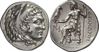Miletus. Drachm of the Alexander-type, 295-275. Gorny & Mosch 190 (2010), 173.