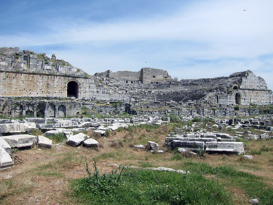 Das Theater von Milet. Foto: KW.