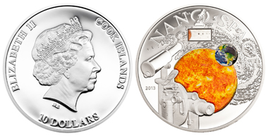 Cook Islands / 10 Dollars / Silver 925 / 50 g / 50 mm / Mintage: 1,000.