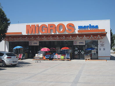 Migros is everywhere in Turkey. Photo: KW.