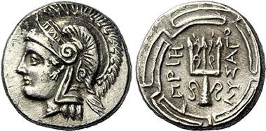 Priene (Ionia). Diobol, 290-270. Lanz 154 (2012), 181.