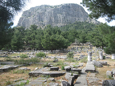 Agora of Priene. Photo: KW.