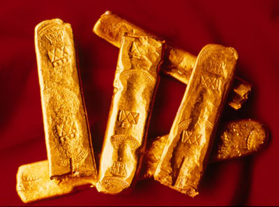 Gold was the most coveted product in the new World. The