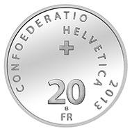 20 Franken, Silbermünze 2013,