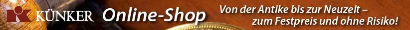 Banner Künker Onlineshop-de