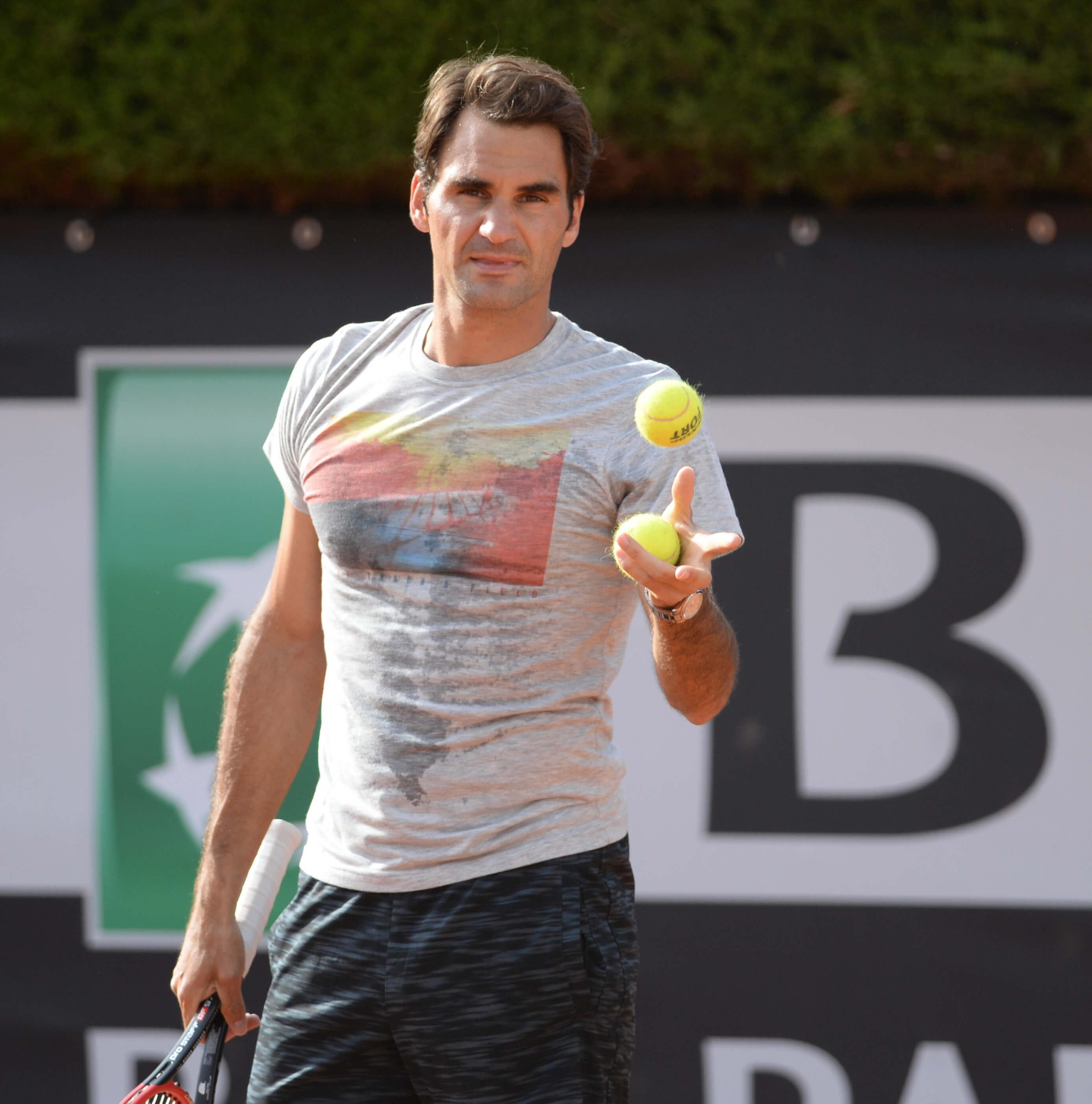 Aufschlag Roger Federer! Die Swissmint ehrt das Tennis Ass
